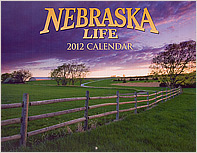 2012 Nebraska Life Calendar.  Contributed 4 photographs including cover. - Tear Sheet Photograph
