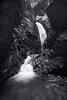 Zappata Falls near the Sand Dune National Park is a short walk up a creek. - The_Midwest Photograph