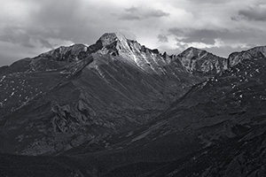 Longs Peak in Rocky Mountain National Park, Colorado. - The_Midwest Photograph