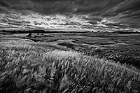 Twilight descends on the Little Salt Fork Marsh near Raymond, Nebraska. - Nebraska Landscape Photograph