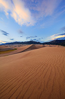 A rare combination of geologic forces combine to create these massive dunes, the largest in North America.  Rising in the distance is Mt. Herard, one of the tallest mountains of the San Juan range. - Colorado Landscape Photograph