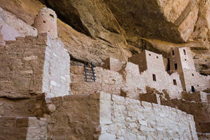 Cliff Palace at Mesa Verde National Park is a reminder of how the Native Americans lived and worked hundreds of years ago. - Colorado Landscape Photograph