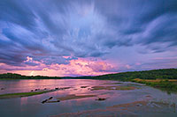 In late summer I photographed this storm storm raging over the Platte River in Eastern Nebraska near South Bend. - Nebraska Photograph