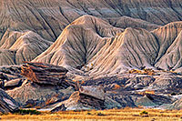 The last light of day touches the unique formations at Toadstool Geologic Park in western Nebraska. - Nebraska Photograph