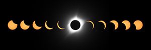 A composite of phases captured about every 15 minutes during the Eclipse of the Century.  An amazing sight over the skies of Nebraska. - Nebraska Nature Photograph