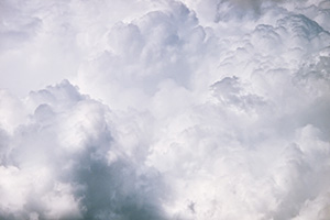 An intimate look at a cumulus cloud in central Nebraska. - Nebraska Photograph