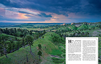 Ride the Ridge Nebraska Life Article - May/June 2016.  Contributed photography. - Tear Sheet Photograph