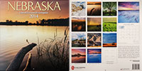 2014 Nebraska State Pride Calendar.  Sold in Costco, Barnes and Noble, and Calendar Club.  Contributed All Photography. - Tear Sheet Photograph