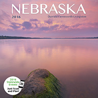2016 Nebraska State Pride Calendar.  Sold in Costco, Amazon, and Calendar Club.  Contributed All Photography. - Tear Sheet Photograph