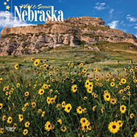 2017 Nebraska Calendar by Brown Trout.  Sold in Amazon, Retail Stores, and Calendar Club.  Contributed 8 Photographs Including Cover. - Tear Sheet Photograph