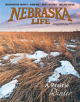 Winter in Washington County in Nebraska Life Story - Cover.  Contributed photography. - Tear Sheet Photograph