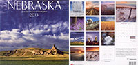 2013 Nebraska State Pride Calendar.  Sold in Costco, Barnes and Noble, and Calendar Club.  Contributed All Photography. - Tear Sheet Photograph