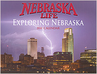 2011 Nebraska Life Calendar.  Contributed 1 photographs including cover. - Tear Sheet Photograph
