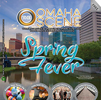 The Omaha Scene - Cover Photo. - Tear Sheet Photograph