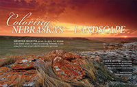Nebraska Colors of Nebraska.  Contributed photography (6 images). - Tear Sheet Photograph