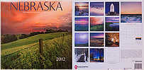 2012 Nebraska State Pride Calendar.  Sold in Costco, Barnes and Noble, and Calendar Club.  Contributed All Photography. - Tear Sheet Photograph