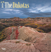 2014 The Dakotas Wild and Scenic - Brown Trout Publishers.  Contributed cover photograph. - Tear Sheet Photograph
